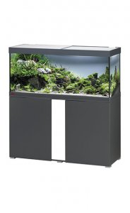 Eheim Vivaline LED 240 Aquarium with Cabinet Anthracite with White Panel