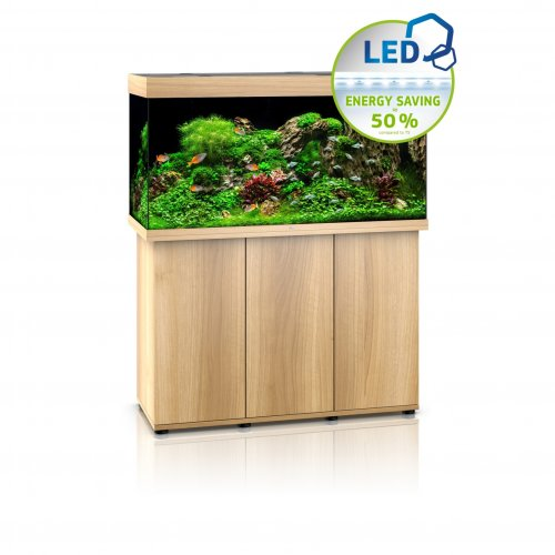 Juwel Rio 350 LED Aquarium with Cabinet Light Wood
