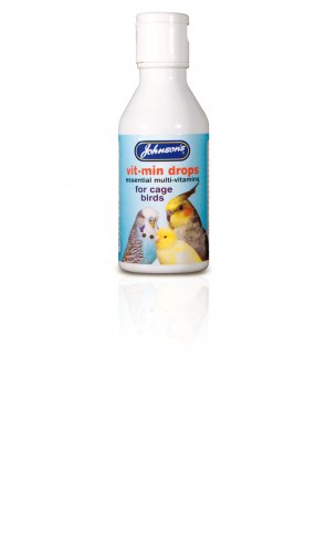 Johnson's Vit Min Drops for Cage Birds 100ml