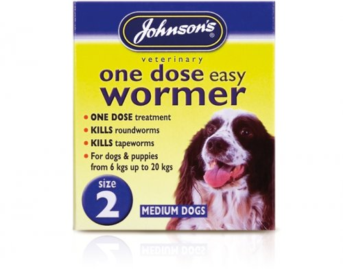 Johnsons One Dose Wormer Size 2