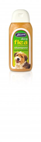 Johnsons Dog Flea Cleansing Shampoo 125ml