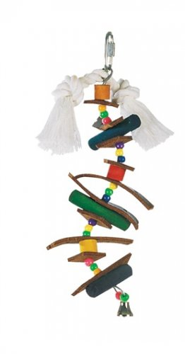 Living World Junglewood Skewer Bird Toy