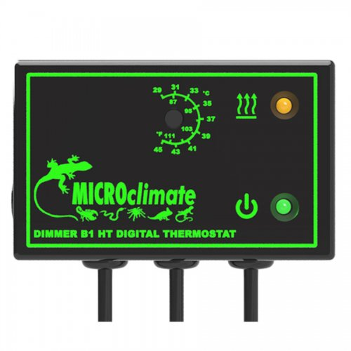 Micro Climate B1HT High Temperature Dimming Thermostat Black