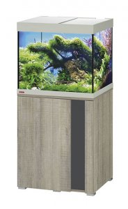 Eheim Vivaline LED 150 Aquarium with Cabinet Oak Grey with Anthracite Panel