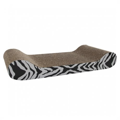 Catit Patterned Scratching Board, Tiger Design