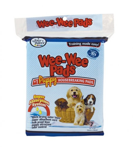 Four Paws Wee Wee Training Pads Pack Of 7