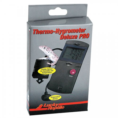 Lucky Reptile Thermometer/Hydrometer Deluxe Pro LTH-34