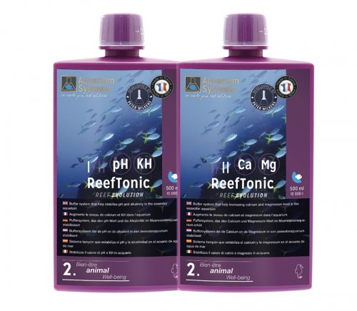 Reef Evolution Reef Tonic 1 & 2, 2x500ml