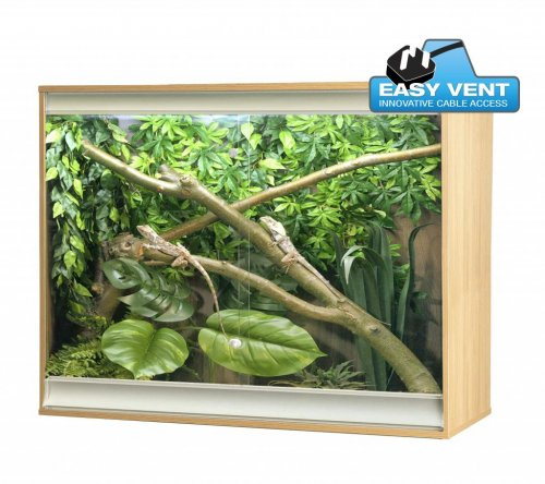Viva+ Arboreal Vivarium Large Deep Oak