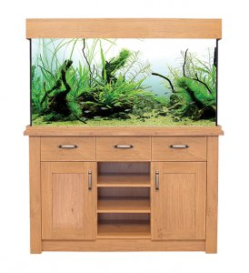 Aqua One OakStyle 230 Aquarium & Cabinet