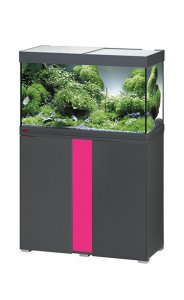 Eheim Vivaline LED 126 Aquarium with Cabinet Anthracite with Candy Panel