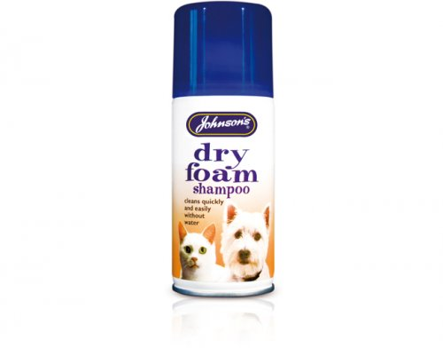 Johnsons Dry Foam Shampoo 150ml