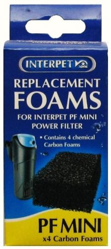 Interpet PF Mini Carbon Foam Pads Pack Of 4