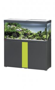 Eheim Vivaline LED 240 Aquarium with Cabinet Anthracite with Lemon Panel
