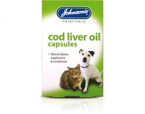 Johnsons Cod Liver Oil 800 Capsules
