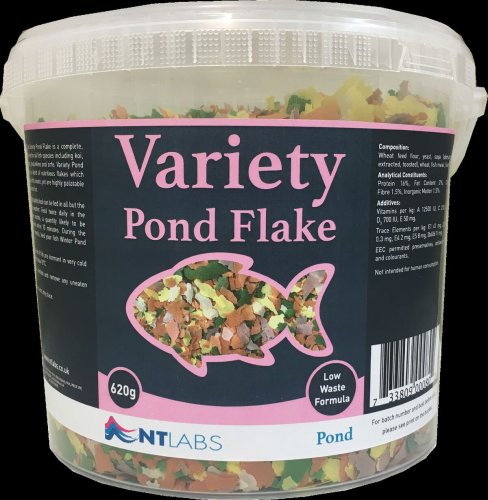 Nt Labs Variety Pond Flake 620g