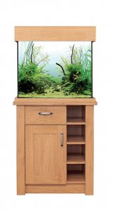Aqua One OakStyle 110 Aquarium & Cabinet