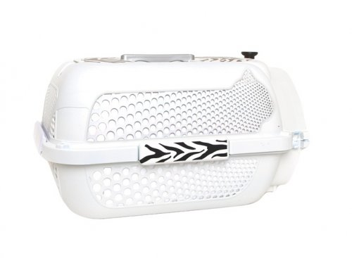 Catit Profile Voyageur Carrier - Small White Tiger Pattern