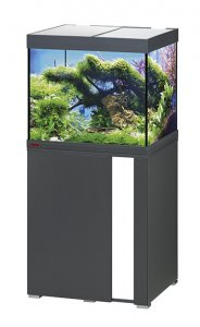 Eheim Vivaline LED 150 Aquarium with Cabinet Anthracite with White Panel