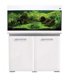 AquaOne AquaVogue 170 Aquarium & Cabinet Gloss White