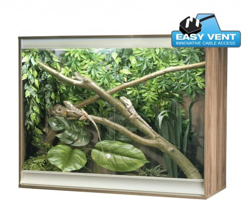 Viva+ Arboreal Vivarium Large Deep Walnut