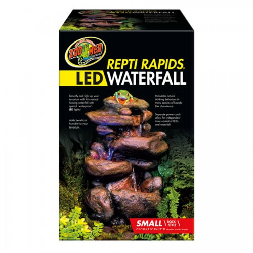 ZooMed Repti Rapids LED Waterfall Small Rock