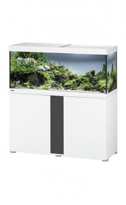 Eheim Vivaline LED 240 Aquarium with Cabinet White with Anthracite Panel