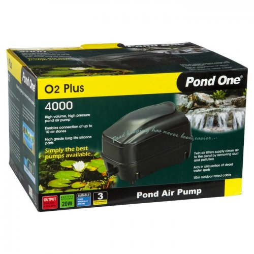 Pond One O2 Plus 4000 Air Pump