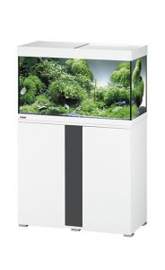 Eheim Vivaline LED 126 Aquarium with Cabinet White with Anthracite Panel