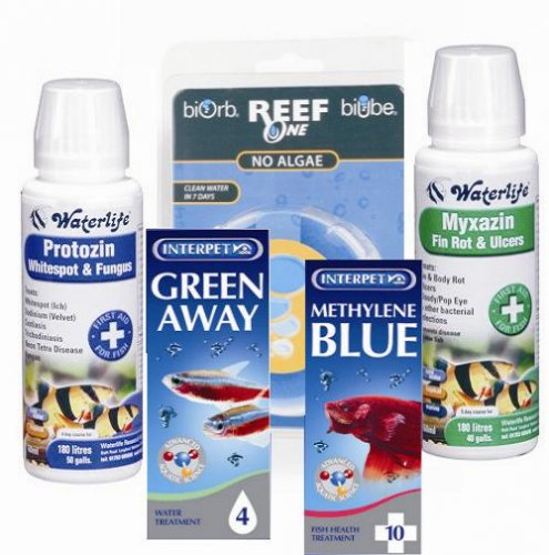 Coldwater Aquarium Treatments