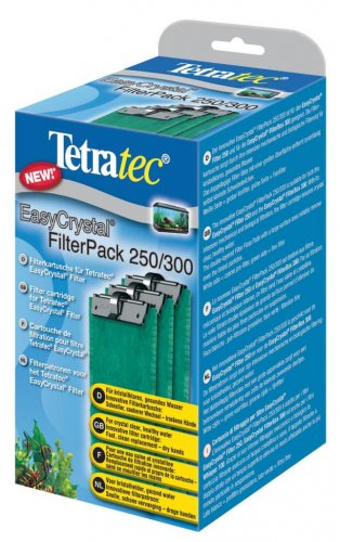 TetraTec Easy Crystal FilterPak With Carbon - 3 Pack