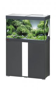 Eheim Vivaline LED 126 Aquarium with Cabinet Anthracite with White Panel