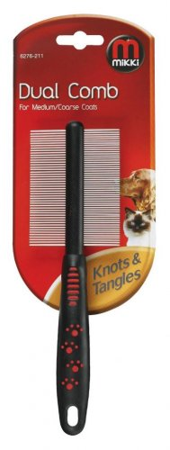 Mikki Dual Comb For Medium/Coarse Coats