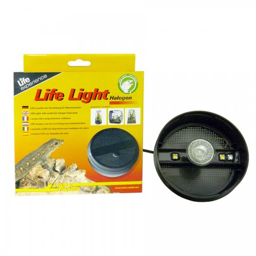 Lucky Reptile Life Light Halogen Round