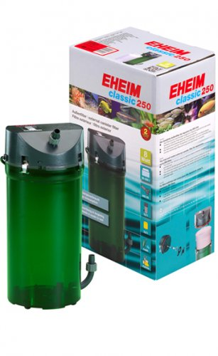 Eheim 2213 Classic 250 (With Media & Taps)
