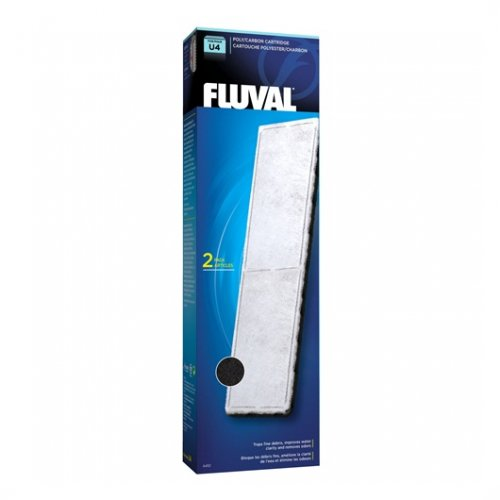 Fluval U4 Poly/Carbon Cartridge (2 per pack)