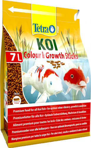 Tetra Pond Koi Colour & Growth Sticks 2200g / 7L