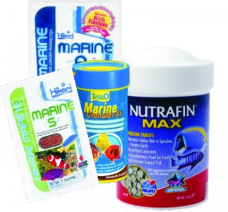 Marine Granule/Tablet Foods