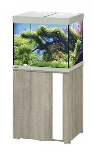 Eheim Vivaline LED 150 Aquarium with Cabinet Oak Grey with White Panel