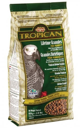 Living World Tropican Lifetime Parrot 820g