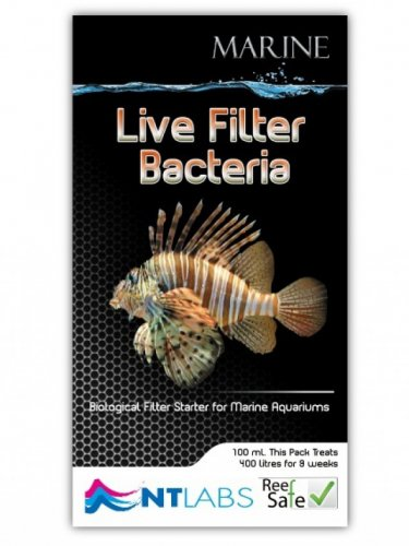 NT Labs Marine Live Filter Bacteria 100ml
