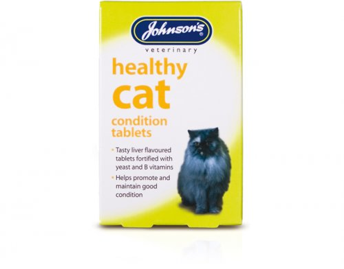 Johnson's Healthy Cat Condition Tablets