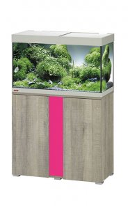 Eheim Vivaline LED 126 Aquarium with Cabinet Oak Grey with Candy Panel