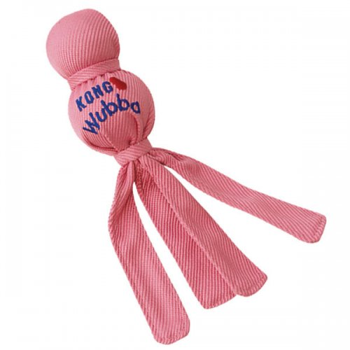 Kong Wubba Puppy Available In Pink & Blue