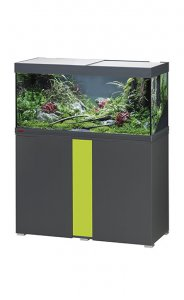 Eheim Vivaline LED 180 Aquarium with Cabinet Anthracite with Lemon Panel