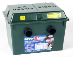 Oasis Green2Clean24000 25Watt UV and Filter