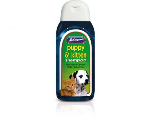 Johnsons Puppy & Kitten Shampoo 125ml