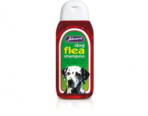Johnsons Dog Flea Shampoo 200ml