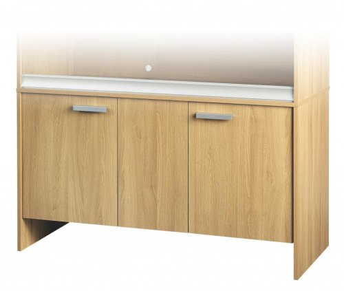 Viva Cabinet Large Deep Oak