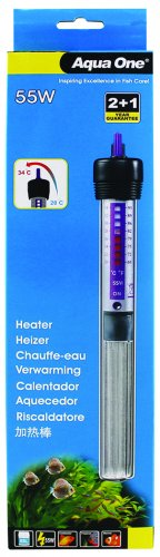 Aqua One Glass Heater 55W